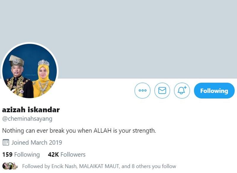 Raja Permaisuri Agong Yang Sporting, Ada Akaun Twitter Yang Sempoi