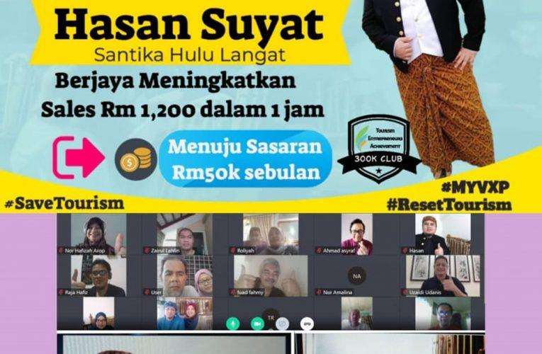 SANTIKA HULU LANGAT PERINTIS GAYA BAHARU PELANCONGAN DENGAN MALAYSIA VIRTUAL EXPERIENCE (MYVXP)