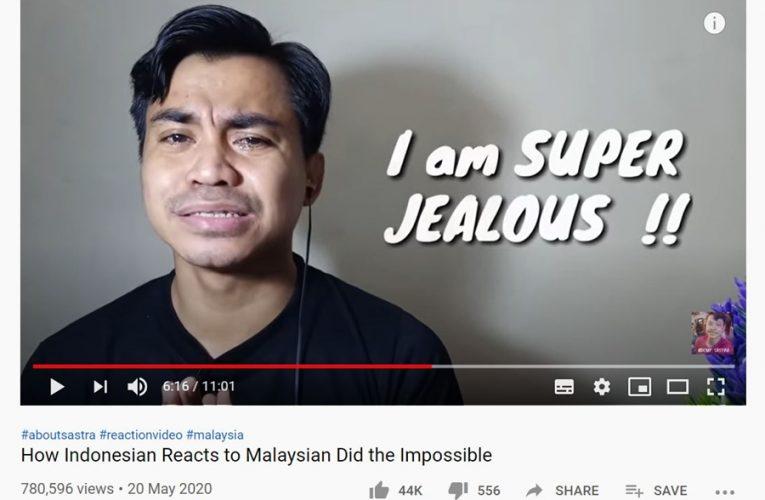 YOUTUBER INDONESIA MENANGIS CEMBURU DENGAN KEJAYAAN MALAYSIA