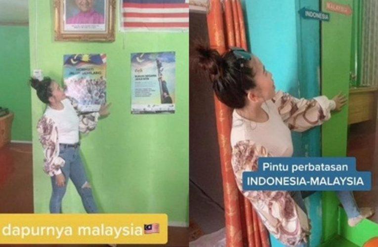 'Dapur Di Malaysia, Ruang Tamu Di Indonesia' – Wanita Tunjuk Rumah Di Atas Sempadan