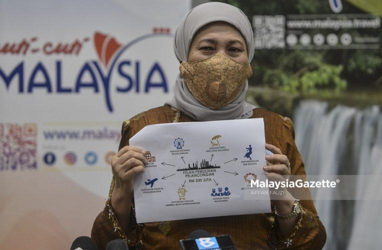 RM200 Juta Untuk Sektor Pelancongan, Tak Diumum Dalam Belanjawan 2021