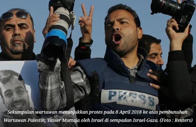 Israel Telah Bunuh Lebih 46 Orang Wartawan Sejak Intifada Al-Aqsa