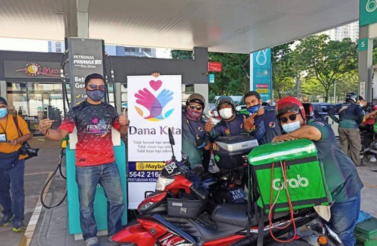 Seramai 250 Orang Rider Dapat Isi Petrol Percuma Program Kongsi Kebaikan Dana Kita
