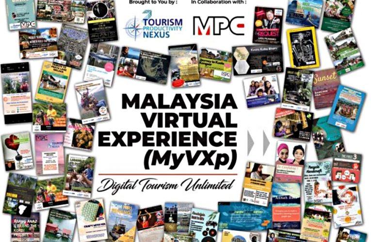 Bantu Industri Pelancongan Tempatan, Mari Tempah Slot Malaysia Virtual Experience Mengisi Masa PKP Anda