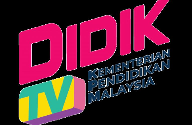 DidikTV Untuk Bantuk PdPR Lebih Berkesan