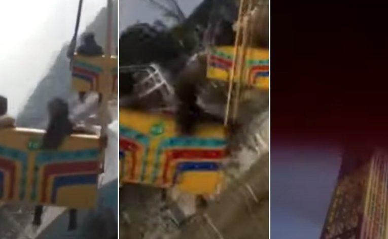 Video : Buaian Taman Tema Terhempas, 16 Orang Cedera Parah