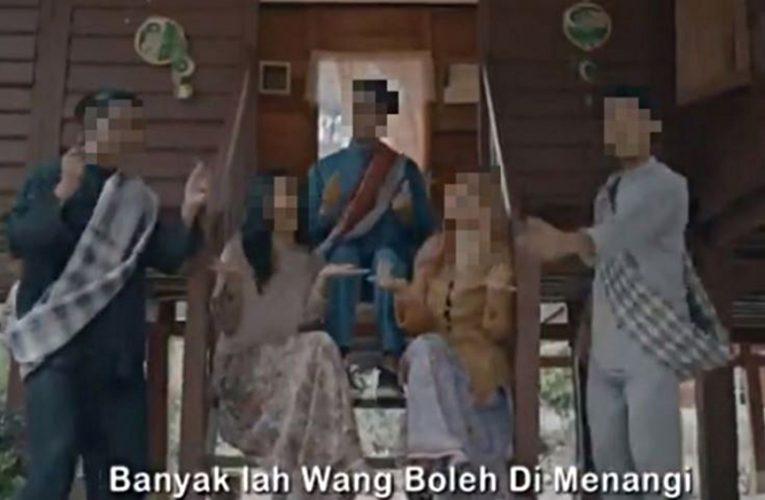 Pelakon Video Muzik Raya Promosi Judi Hanya Dibayar RM180 Seorang
